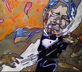 Little Blues, oil on canvas, 18x24, 2016