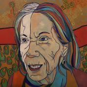 Pak Darling, 20x20, oil on canvas, 2016