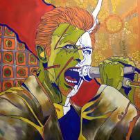 Just Add Water & Stir, oil on canvas, 40x40, 2016