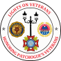 lights on veterans logo